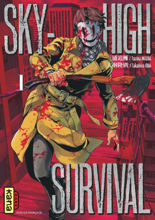Couverture Sky High survival, tome 1
