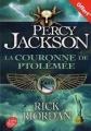 Couverture La couronne de Ptolémée Editions Hachette 2015