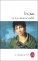 Couverture Le lys dans la vallée Editions Le livre de poche (Les classiques de poche) 1995