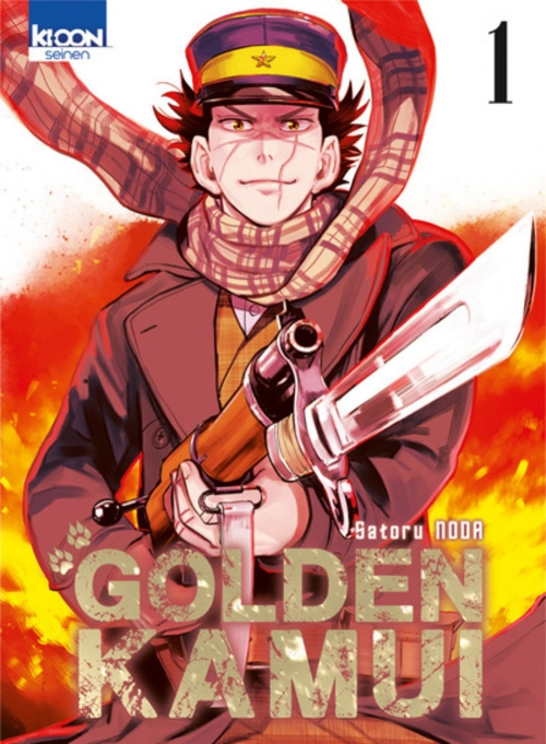 Couverture Golden Kamui, tome 01