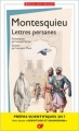 Couverture Lettres persanes Editions Flammarion (GF) 2016