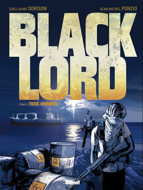 Couverture Black Lord, tome 2 : Toxic warrior