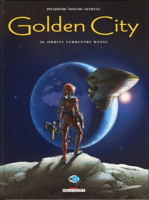 Couverture Golden City, tome 10 : Orbite terrestre basse