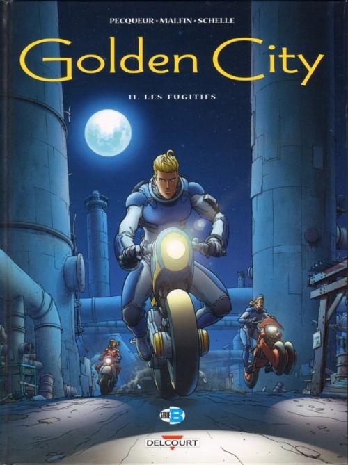 Couverture Golden City, tome 11 : Les fugitifs