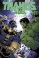 Couverture Thanos vs Hulk : Le Duel de l'Infini Editions Panini (Marvel Graphic Novels) 2016