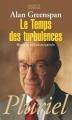 Couverture Le temps des turbulences Editions Hachette (Pluriel) 2008