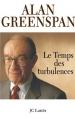 Couverture Le temps des turbulences Editions JC Lattès 2007