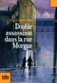 Couverture Double assassinat dans la rue Morgue Editions Folio  (Junior) 2010