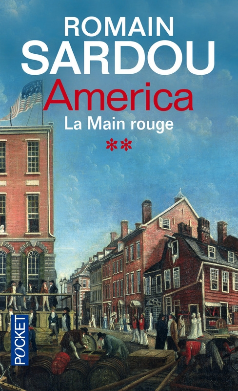 Couverture America, tome 2 : La main rouge
