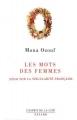 Couverture Les Mots des femmes Editions Fayard 1995