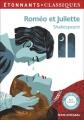 Couverture Roméo et Juliette Editions Flammarion (GF - Etonnants classiques) 2016