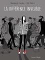 Couverture La différence invisible Editions Delcourt 2016