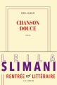 Couverture Chanson douce Editions Gallimard  (Blanche) 2016