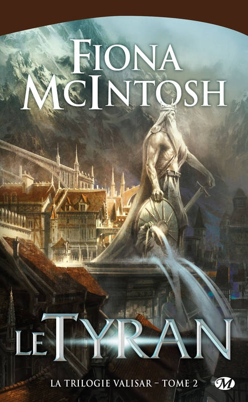 Couverture Valisar, tome 2 : Le tyran
