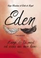 Couverture Eden : L'ange de la mort est assis sur mon banc Editions Baudelaire 2016