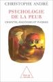Couverture Psychologie de la peur : Craintes, angoisses et phobies Editions Odile Jacob 2005