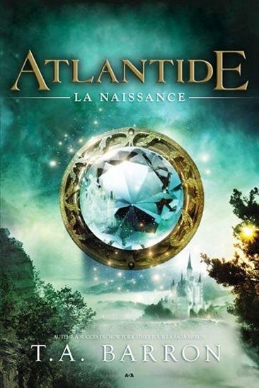 Couverture Atlantide, tome 1 : La naissance