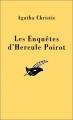 Couverture Les enquêtes d'Hercule Poirot Editions Le Masque 1991