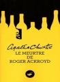 Couverture Le meurtre de Roger Ackroyd Editions du Masque 2011