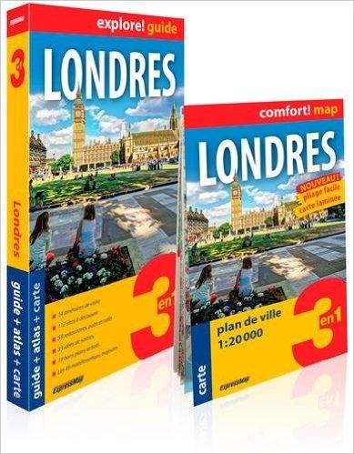 Couverture Londres (Explore! Guide 3 en 1)