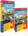 Couverture Londres (Explore! Guide 3 en 1) Editions ExpressMap 2016