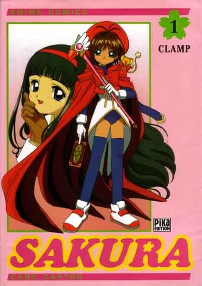 Couverture Card Captor Sakura (d'après la série TV), tome 01
