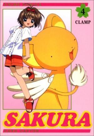 Couverture Card Captor Sakura (d'après la série TV), tome 04