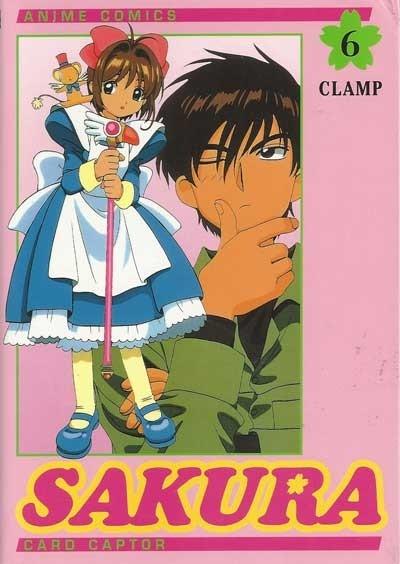 Couverture Card Captor Sakura (d'après la série TV), tome 06