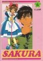 Couverture Card Captor Sakura (d'après la série TV), tome 06 Editions Pika 2002