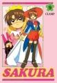 Couverture Card Captor Sakura (d'après la série TV), tome 09 Editions Pika 2003