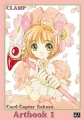 Couverture Card Captor Sakura, Artbook, tome 1 Editions Pika 2002