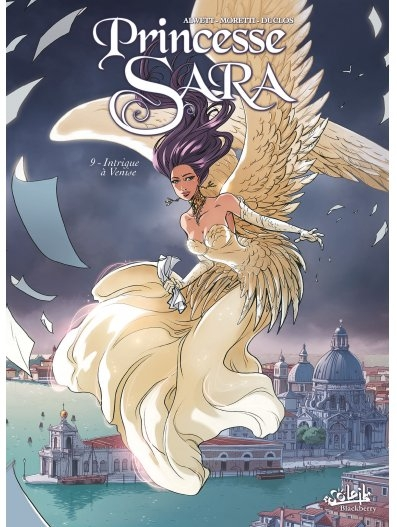 Couverture Princesse Sara, tome 09 : Intrigue à Venise