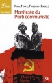 Couverture Manifeste du parti communiste Editions Librio (Document) 2014
