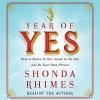 Couverture L'année du oui : Apprendre à dire Oui va changer votre vie ! Editions Simon & Schuster 2015