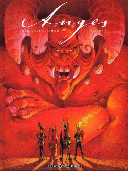 Couverture Anges, tome 3 : Psaume 3