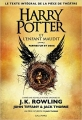 Couverture Harry Potter et l'enfant maudit Editions Gallimard  2016