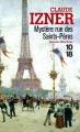 Couverture Mystère Rue Des Saints-Pères Editions 10/18 (Grands détectives) 2003