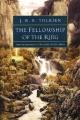 Couverture Le Seigneur des Anneaux, tome 1 : La communauté de l'anneau / La fraternité de l'anneau Editions Houghton Mifflin Harcourt 1999