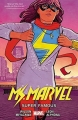 Couverture Miss Marvel (Marvel Now), tome 4 : Super Célèbre Editions Marvel (Marvel Now!) 2016