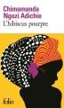 Couverture L'hibiscus pourpre Editions Folio  2016