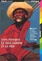 Couverture Le Vieil Homme et la mer Editions Folio  (Junior - Edition spéciale) 1998