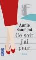 Couverture Ce soir j'ai peur Editions Pocket 2016