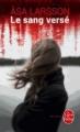 Couverture Le sang versé Editions Le Livre de Poche (Thriller) 2015