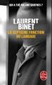 Couverture La Septième Fonction du langage Editions Le Livre de Poche 2016
