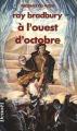 Couverture A l'ouest d'octobre Editions Denoël (Présence du futur) 1990