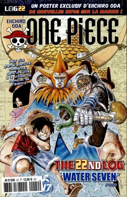 Couverture One Piece, Log, tome 22