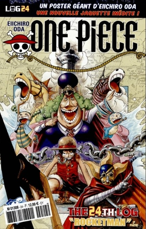 Couverture One Piece, Log, tome 24