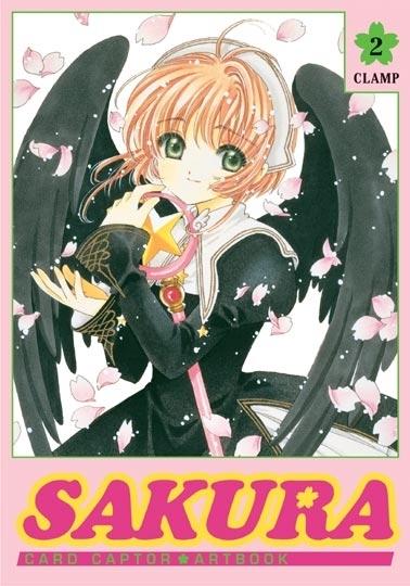 Couverture Card Captor Sakura, Artbook, tome 2