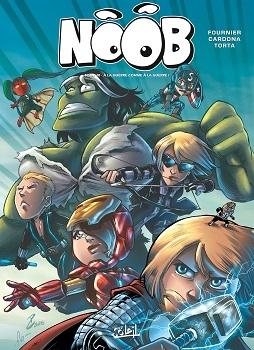 Couverture Noob (BD), tome 10 : A la guerre comme à la guerre !