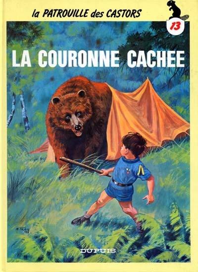 Couverture La patrouille des castors, tome 13 : La couronne cachée